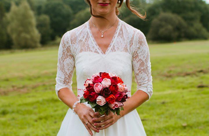 12 Origami and Bunting 2 week Long Wedding in Devon