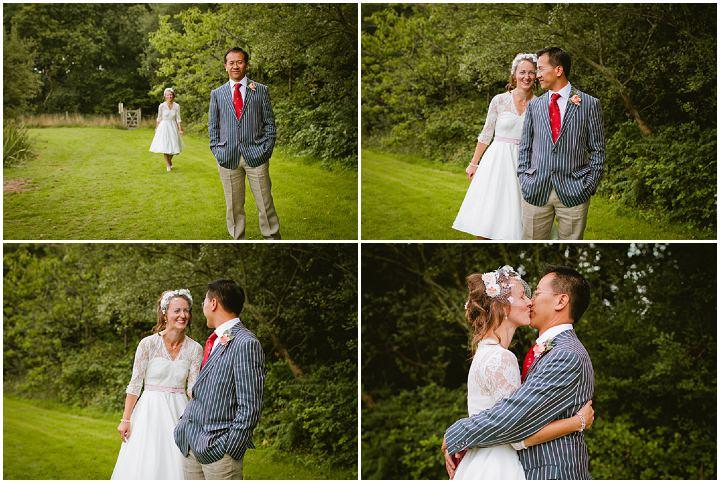 13 Origami and Bunting 2 week Long Wedding in Devon