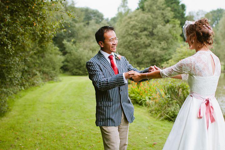 14 Origami and Bunting 2 week Long Wedding in Devon