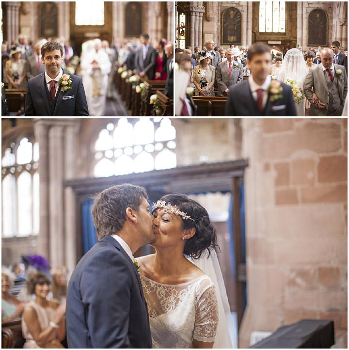 16 DIY Village Hall Wedding in Cheshire by Daniel Hough Photography