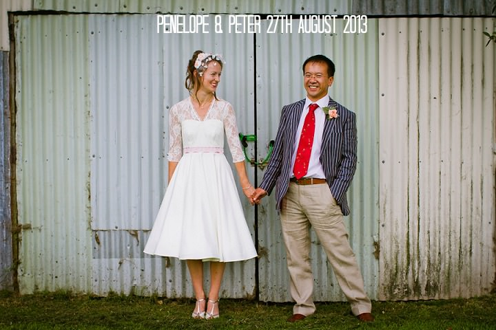 2 Origami and Bunting 2 week Long Wedding in Devon
