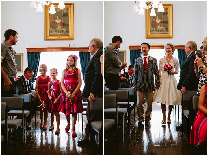 20 Origami and Bunting 2 week Long Wedding in Devon