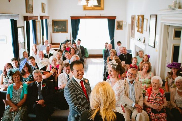 22 Origami and Bunting 2 week Long Wedding in Devon