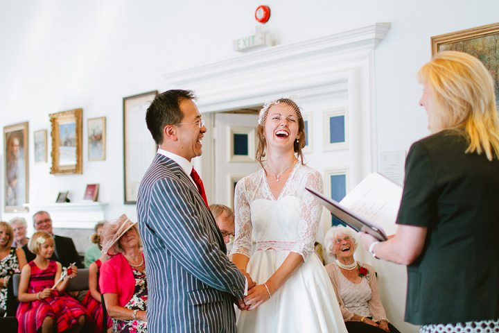 23 Origami and Bunting 2 week Long Wedding in Devon