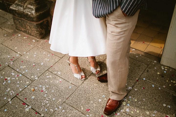 26 Origami and Bunting 2 week Long Wedding in Devon