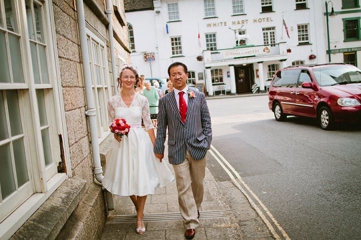 27 Origami and Bunting 2 week Long Wedding in Devon