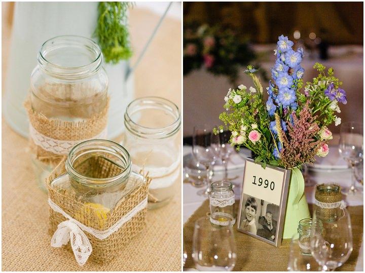 30 DIY Barn Wedding in Surrey By Tux and Tales