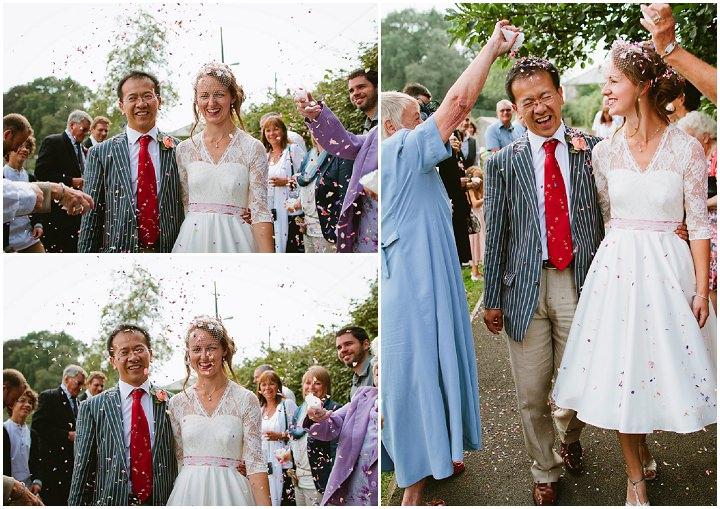 31 Origami and Bunting 2 week Long Wedding in Devon