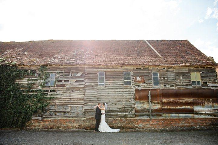 38 DIY Barn Wedding in Surrey By Tux and Tales