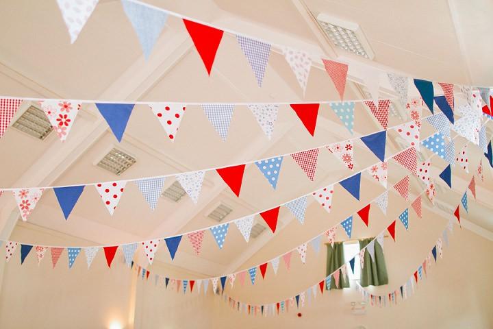 4 Origami and Bunting 2 week Long Wedding in Devon