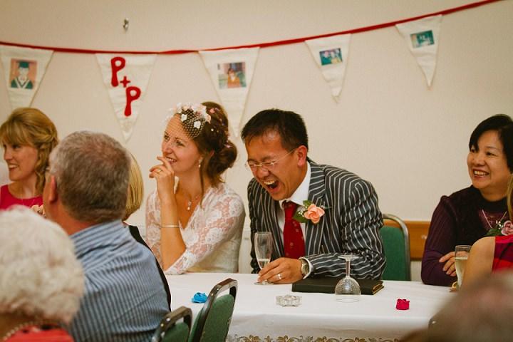 40 Origami and Bunting 2 week Long Wedding in Devon