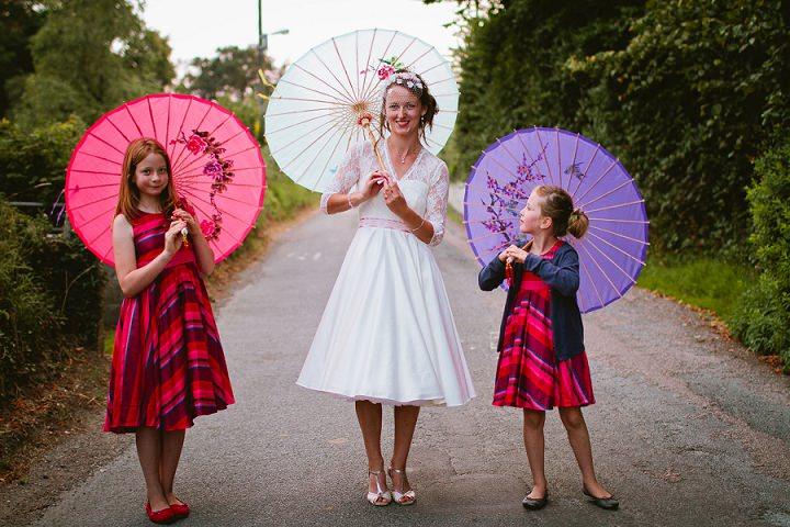 41 Origami and Bunting 2 week Long Wedding in Devon