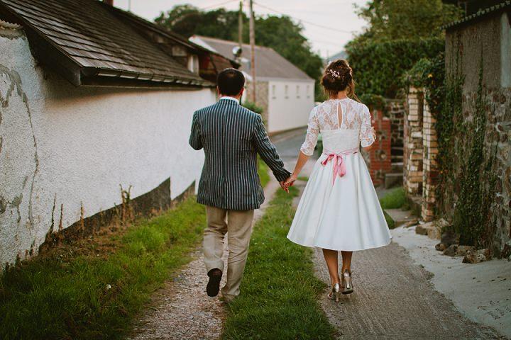 43 Origami and Bunting 2 week Long Wedding in Devon
