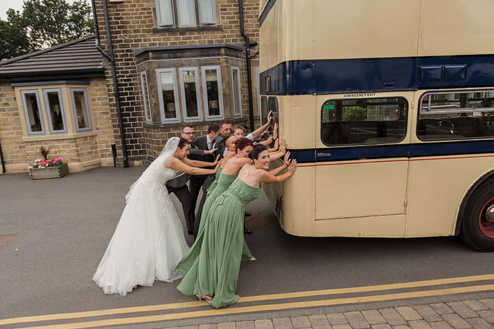 46 Green and White Wedding in Huddersfield By Paul Joseph Photography