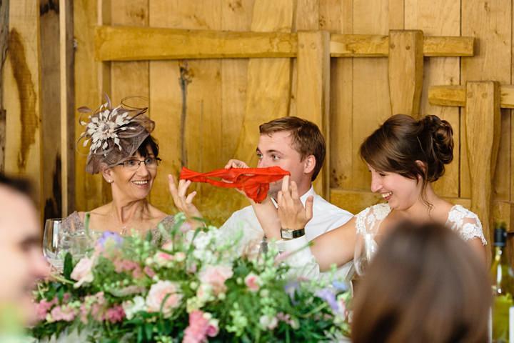 48 DIY Barn Wedding in Surrey By Tux and Tales