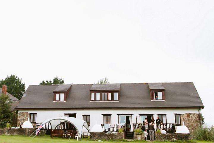 6 Origami and Bunting 2 week Long Wedding in Devon