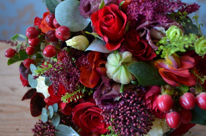 Winter Wonderland Weddings with Campbell\'s Flowers