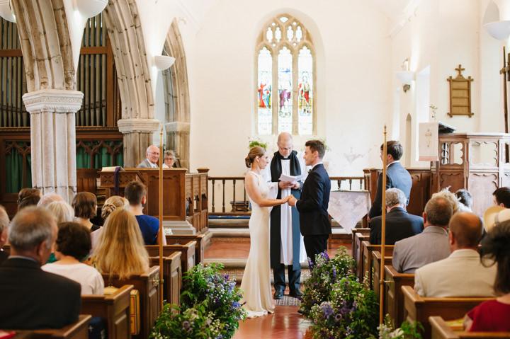 17 Devon Wedding With A Stella McCartney Wedding Dress By Ana Lui
