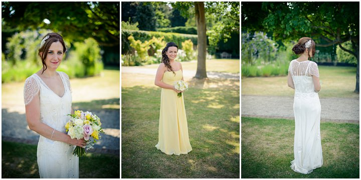 17 Summer Wedding at Gaynes Park in Epping By Justin Bailey