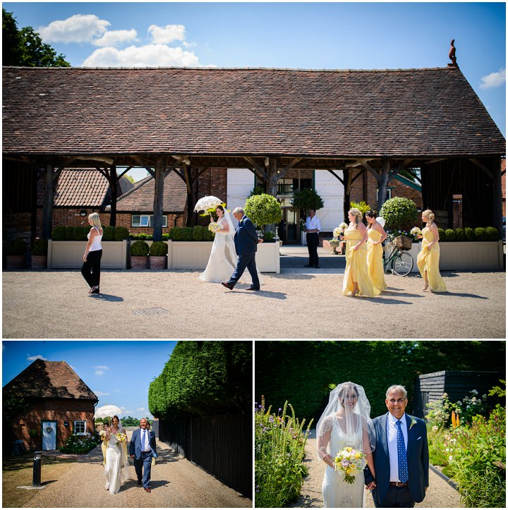 18 Summer Wedding at Gaynes Park in Epping By Justin Bailey