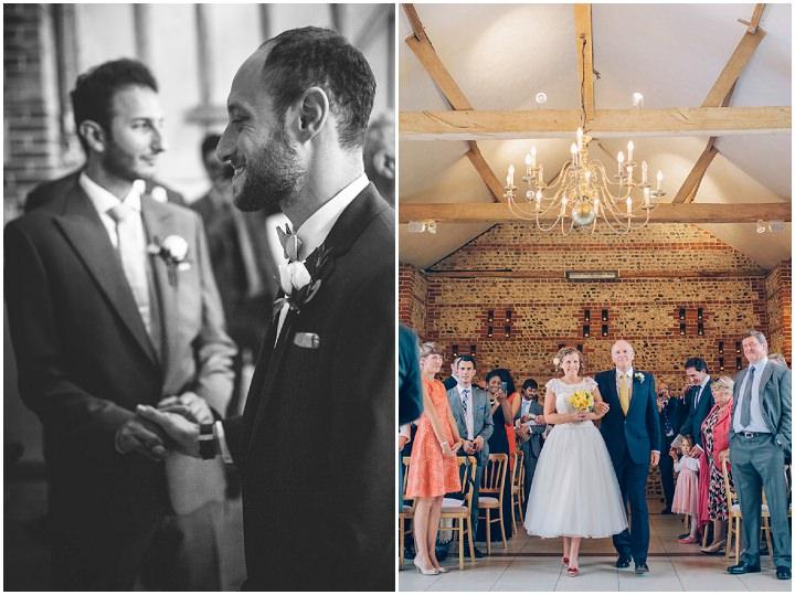19 Beautiful Barn Wedding in West Sussex By Dan Corbett