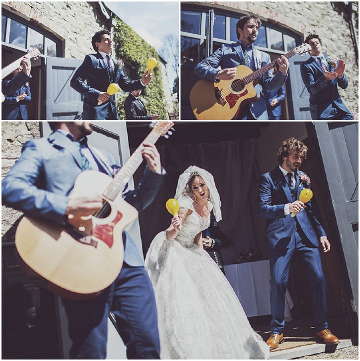19 Vintage Glam Wedding in North Wales By Anna Hardy