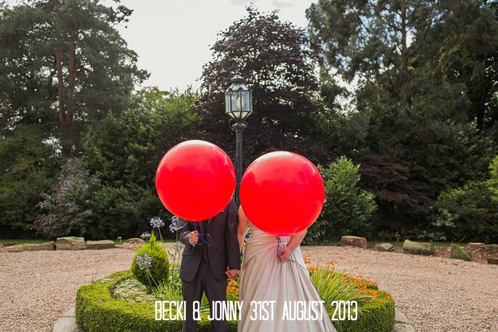 Becki and Jonny's DIY wedding at Holdsworth House