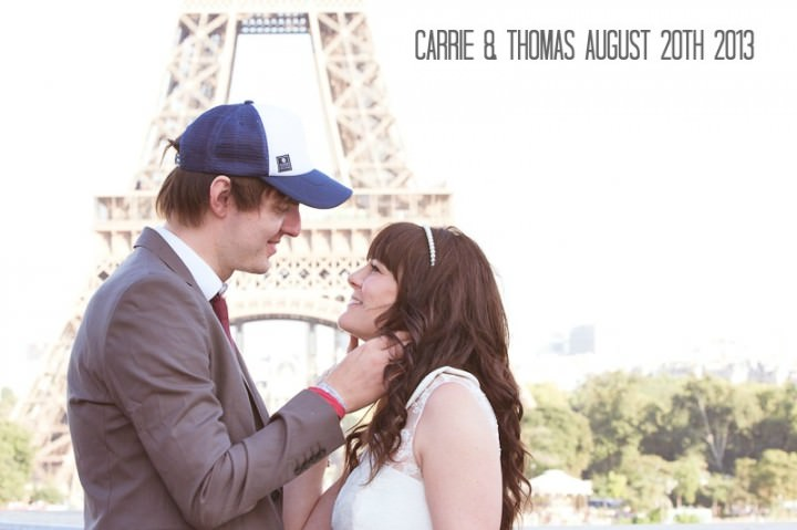 1a Intimate Paris Wedding By Fluke Photography