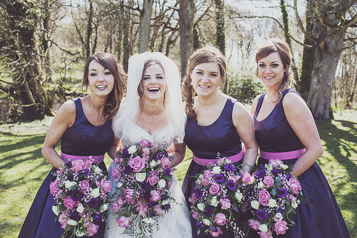 2 Vintage Glam Wedding in North Wales By Anna Hardy