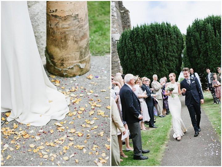 20 Devon Wedding With A Stella McCartney Wedding Dress By Ana Lui
