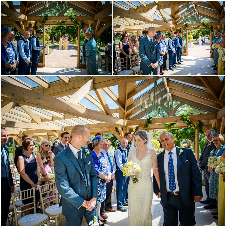 20 Summer Wedding at Gaynes Park in Epping By Justin Bailey