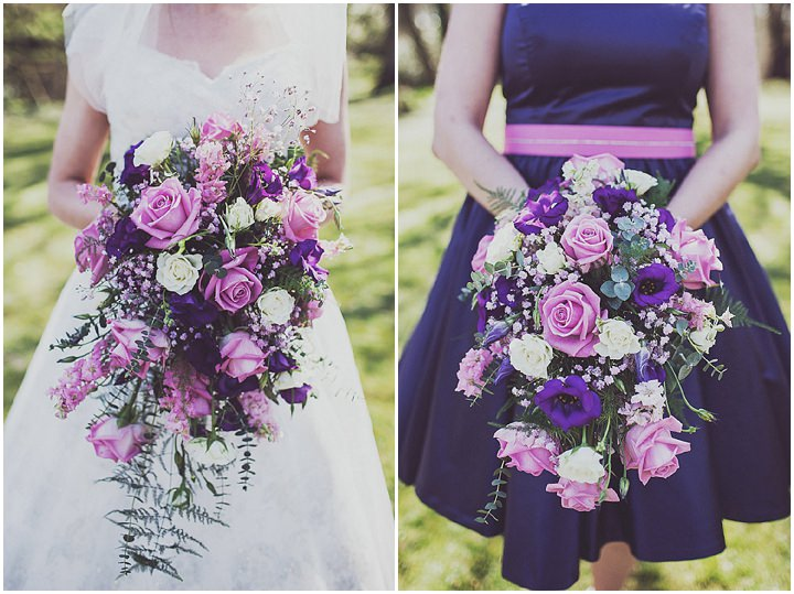 22 Vintage Glam Wedding in North Wales By Anna Hardy