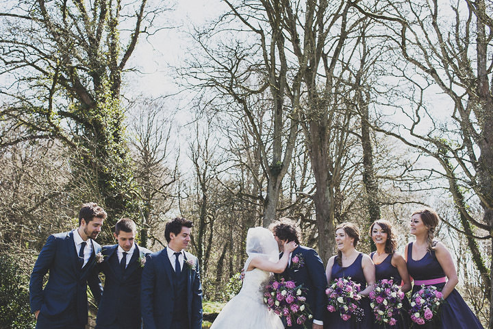 23 Vintage Glam Wedding in North Wales By Anna Hardy