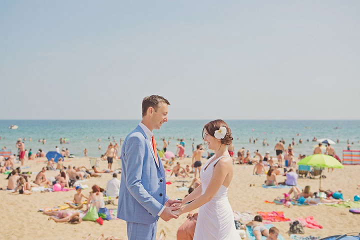24 Beach Wedding in Bournemouth By Cotton Candy