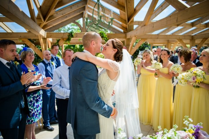 24 Summer Wedding at Gaynes Park in Epping By Justin Bailey