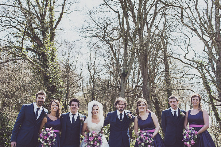24 Vintage Glam Wedding in North Wales By Anna Hardy