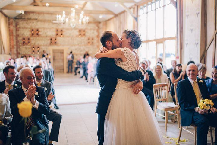 25 Beautiful Barn Wedding in West Sussex By Dan Corbett
