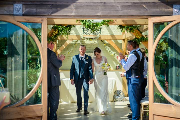 25 Summer Wedding at Gaynes Park in Epping By Justin Bailey