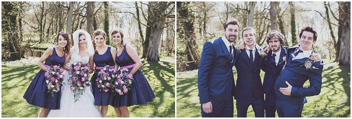 25 Vintage Glam Wedding in North Wales By Anna Hardy