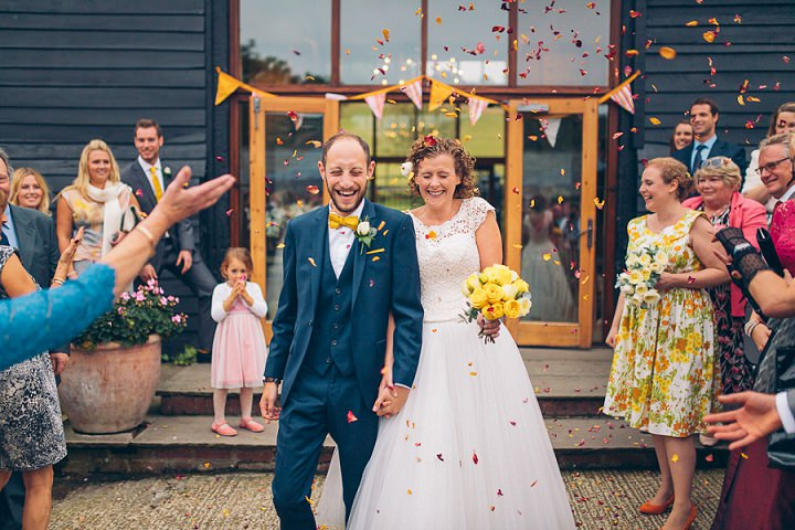 27 Beautiful Barn Wedding in West Sussex By Dan Corbett