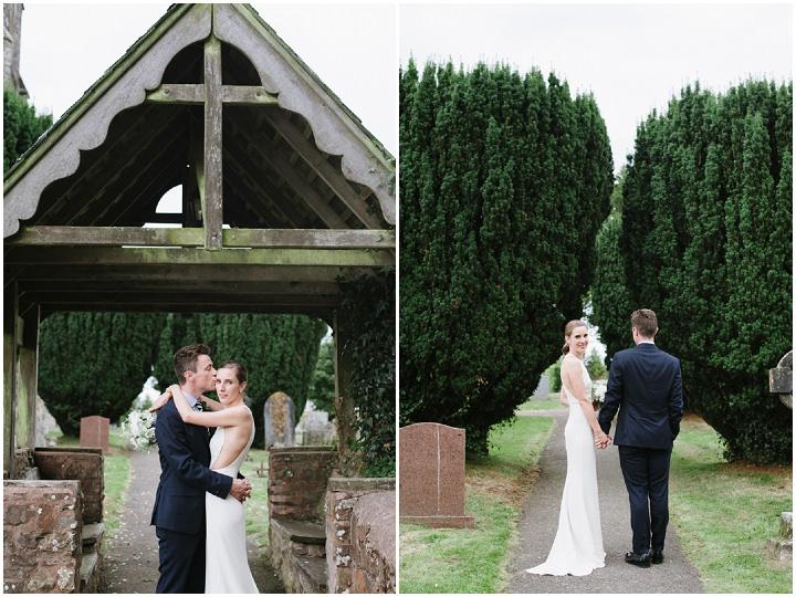 27 Devon Wedding With A Stella McCartney Wedding Dress By Ana Lui