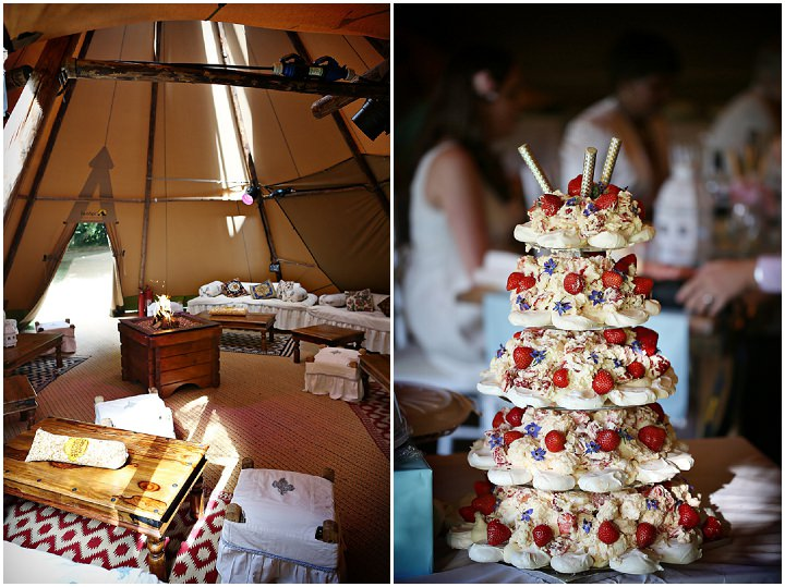 27 Outdoor Tipi Wedding at Bittenham Springs in the Cotswolds