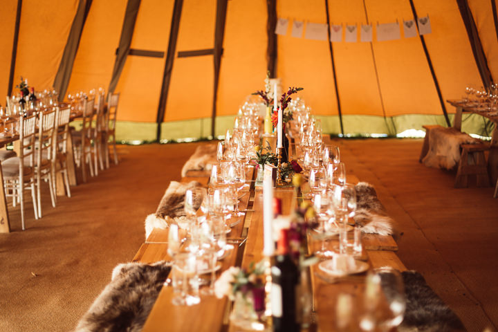 27 Tipi Wedding in Somerset By Ben Higgins