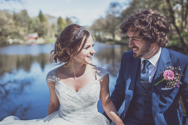 27 Vintage Glam Wedding in North Wales By Anna Hardy