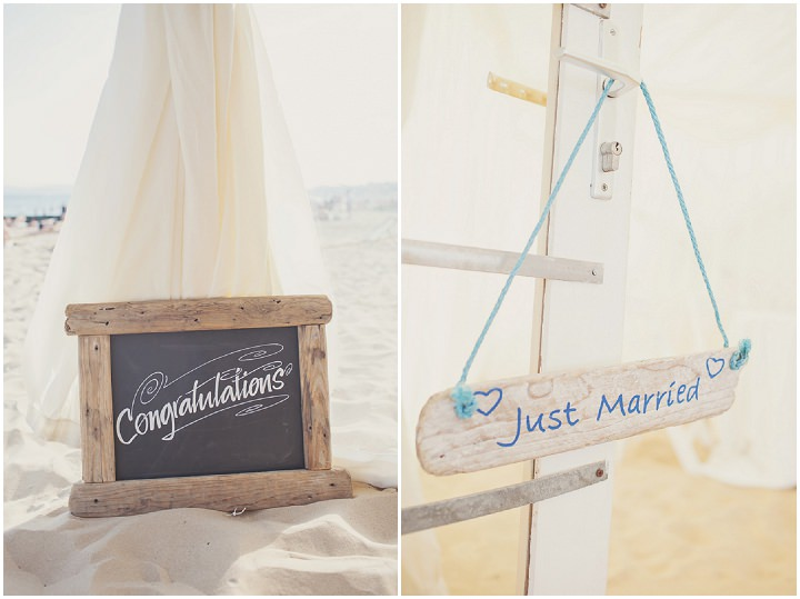 28 Beach Wedding in Bournemouth By Cotton Candy