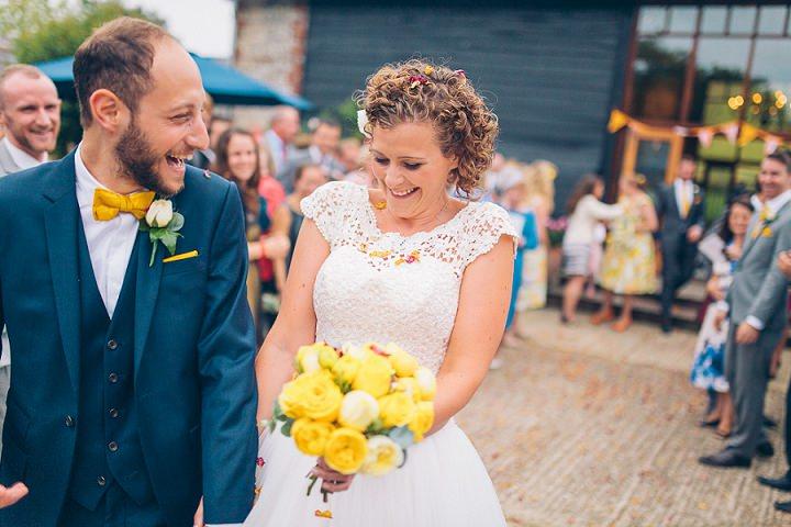 28 Beautiful Barn Wedding in West Sussex By Dan Corbett