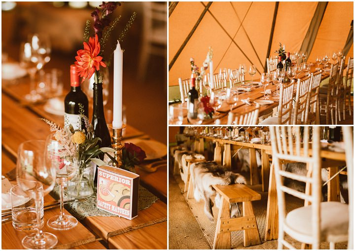 28 Tipi Wedding in Somerset By Ben Higgins