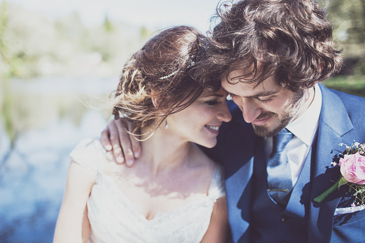28 Vintage Glam Wedding in North Wales By Anna Hardy