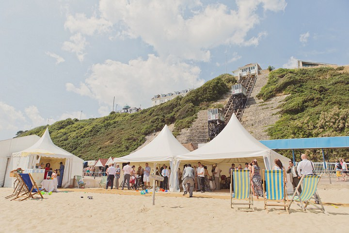 29 Beach Wedding in Bournemouth By Cotton Candy