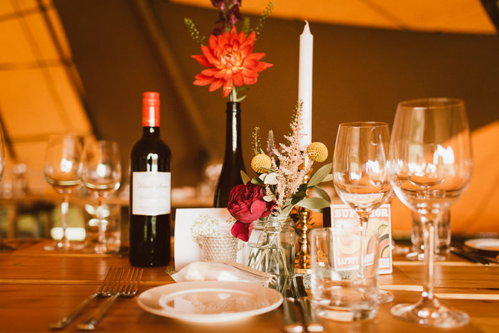 29 Tipi Wedding in Somerset By Ben Higgins